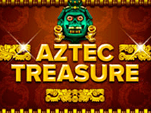 Автоматы Aztec Treasure не без; выводом денег