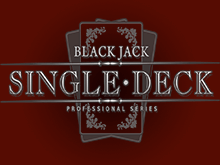 Игровой автомат Single Deck Blackjack Professional Series в клубе Вулкан 24